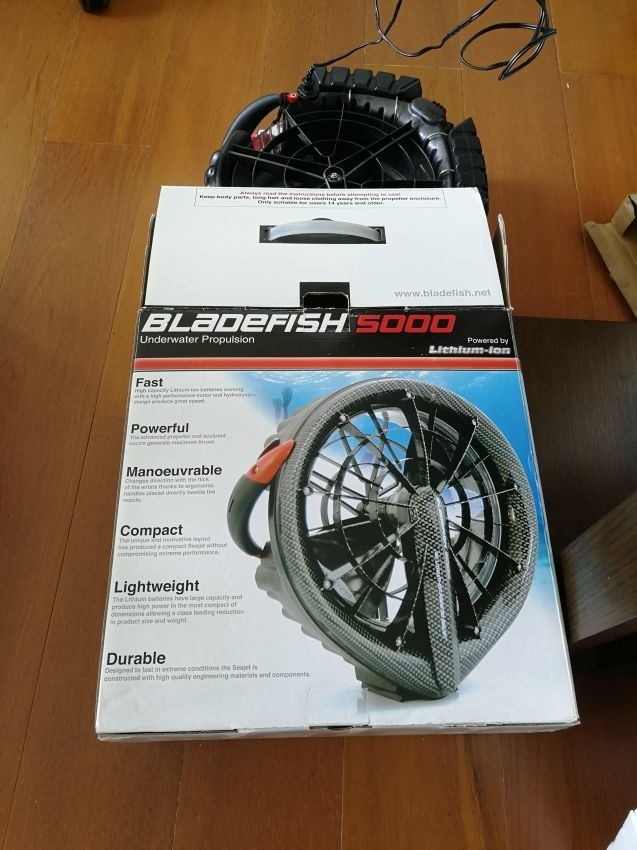 Bladefish 5000 Powerfull Underwater Scooter