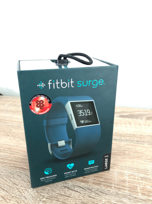 Fitbit Surge Fitness Superwatch for sale, mint condition