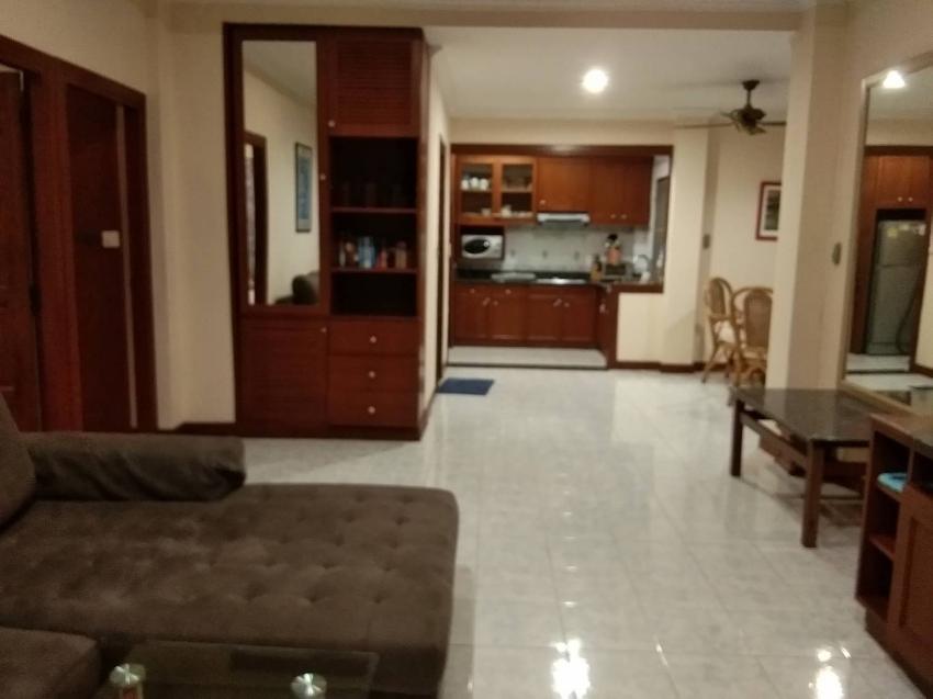 3th floor 101 SQM Corner double Condo at Baan Suan Lalana