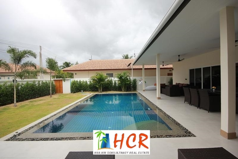 3 Bedroom Pool Villa on Palm Gardens Hua Hin Soi 70 for Rent