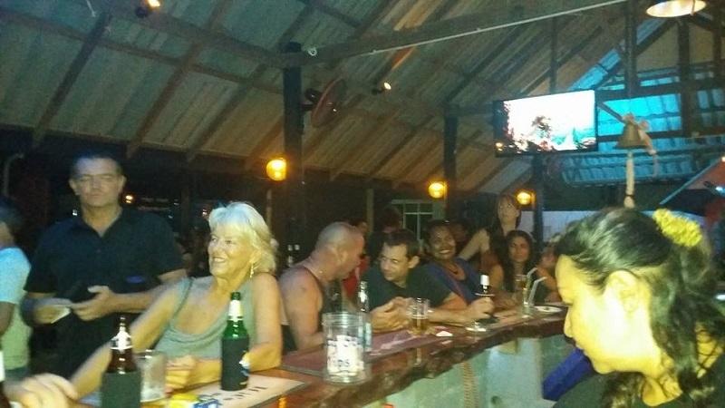 Busy Koh Lanta Bar