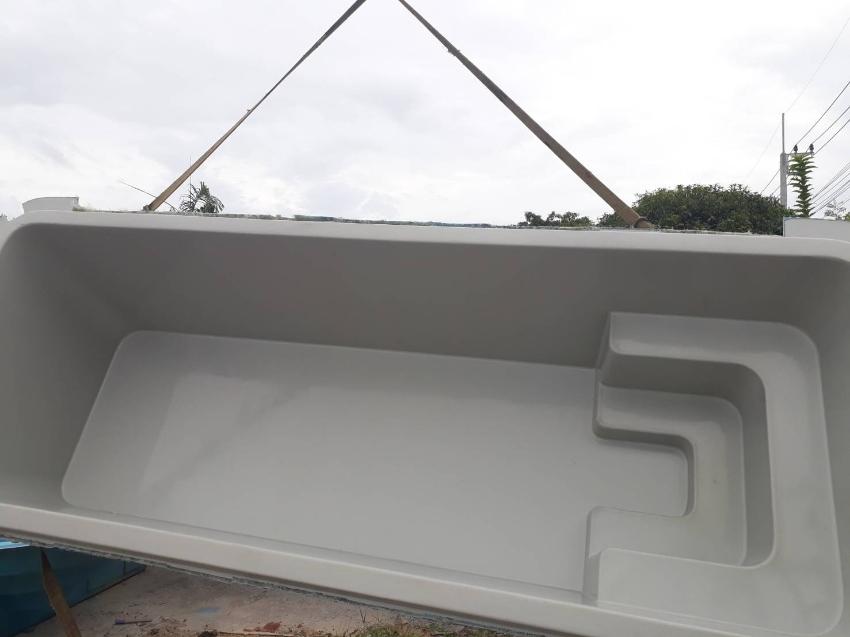 Ambassador 6m Pool | Coral Grey Pool