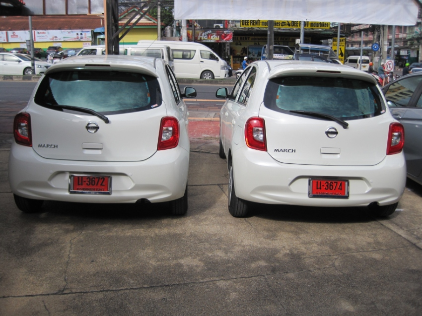 New Nissan March 2018 for rent
