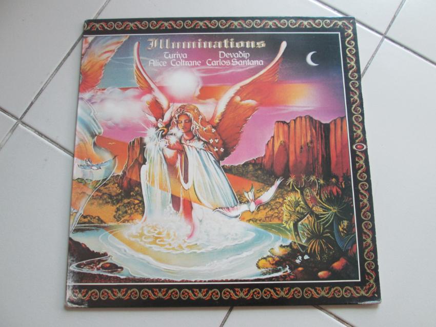 LP vinyl Carlos Santana