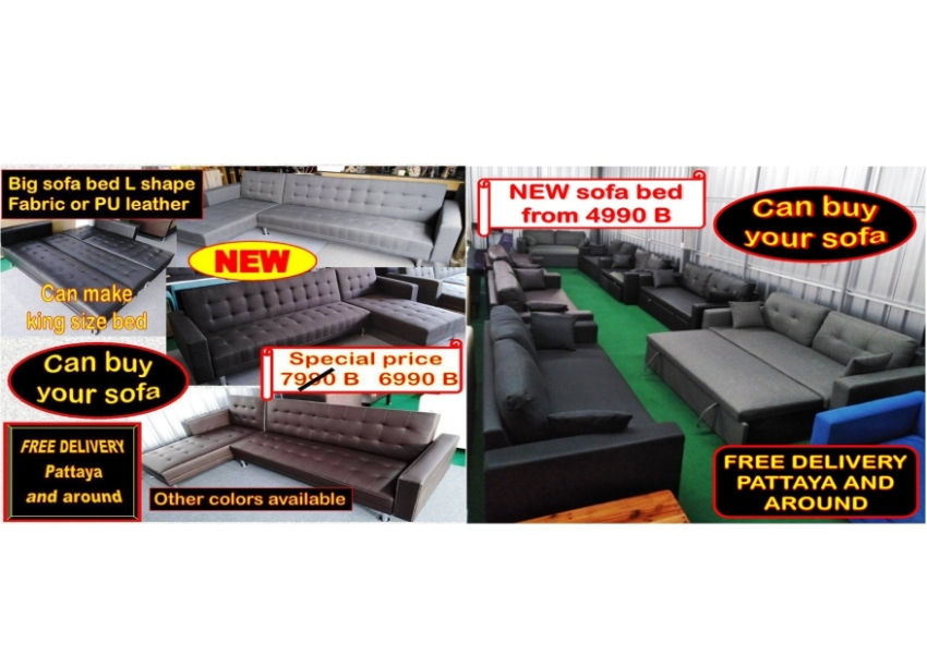NEW sofa bed from 4990 B * Free delivery * Can buy your sofa