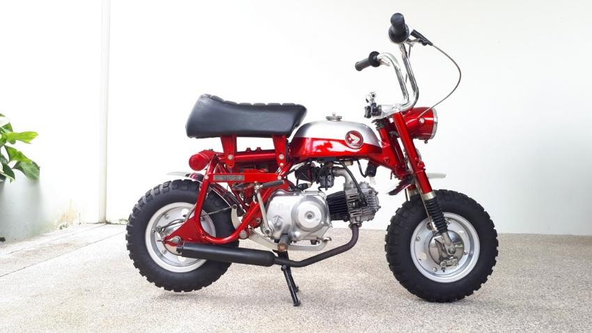 1969 Honda Z50 minibike