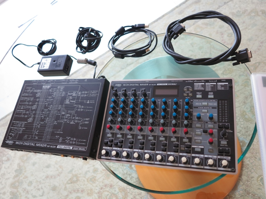 Roland Edirol M-16DX 16 Channel Digital Mixer