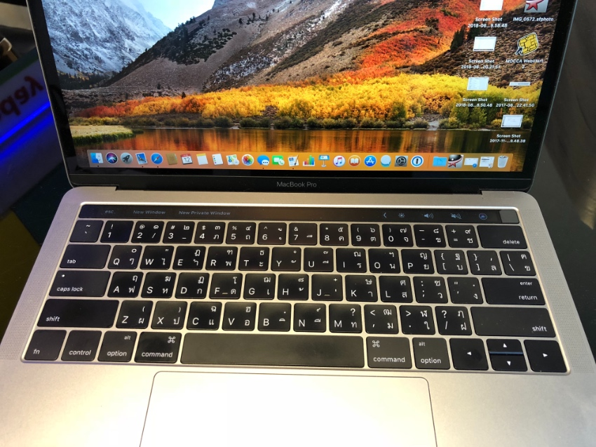 MacBook Pro 13-inch with Touch Bar and Touch ID