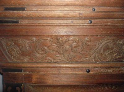 Antique oak-wood Dutch pastor's cabinet NEW PRICE!!