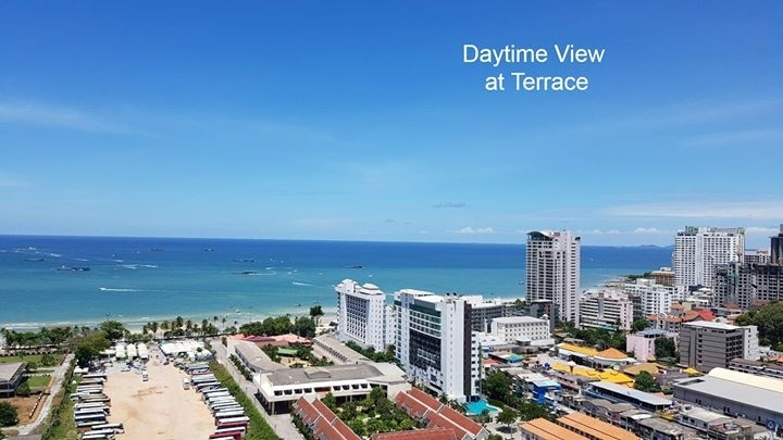 Pattaya Centric Sea Condo 25 fl Ocean View 2 Bed room