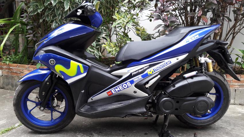 2017 Yamaha Aerox 155.Outstanding 6,100km