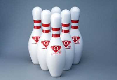 QubicaAMF Mini Bowling Route 66 Lanes / Coin-Operated