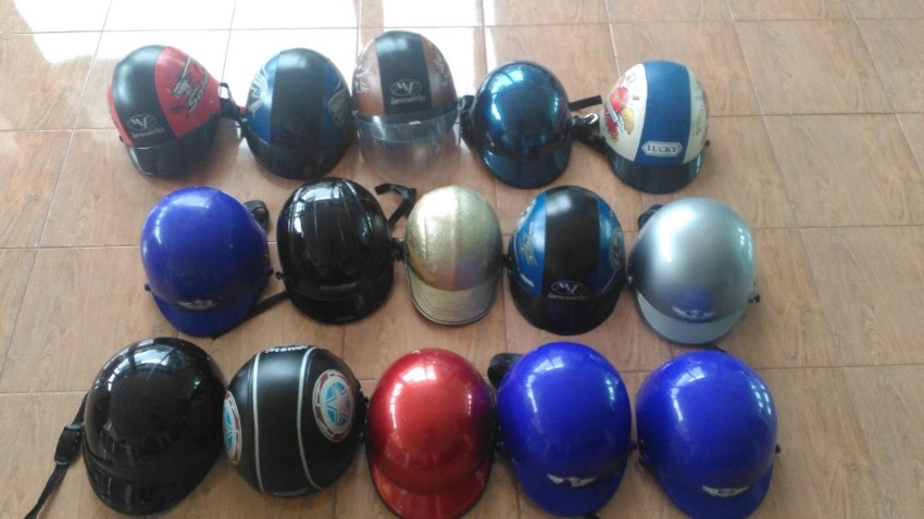 15 x Motorbike Helmets (Used) For Sale