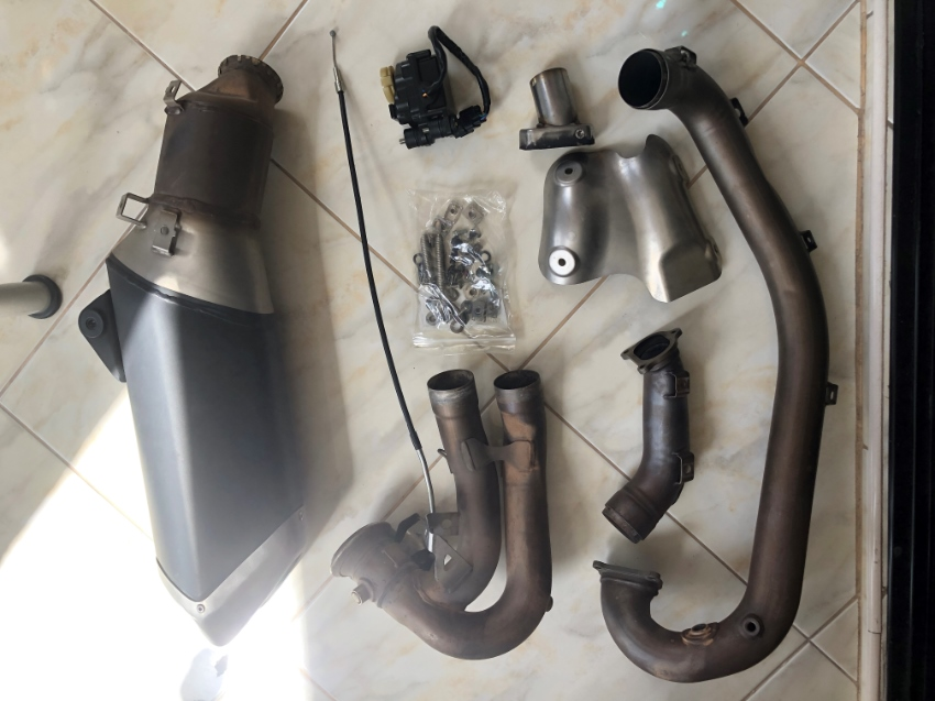 for Ducati HM939, various originals parts.