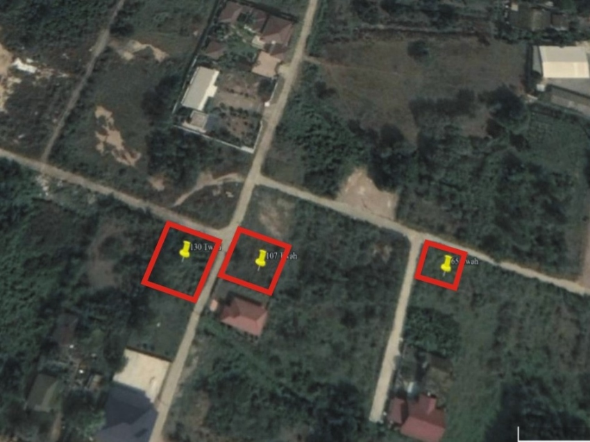 Choice of 3 Building Plots near the Beach