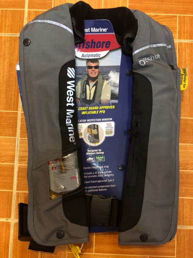 West Marine Offshore Auto Inflatable Life Jacket