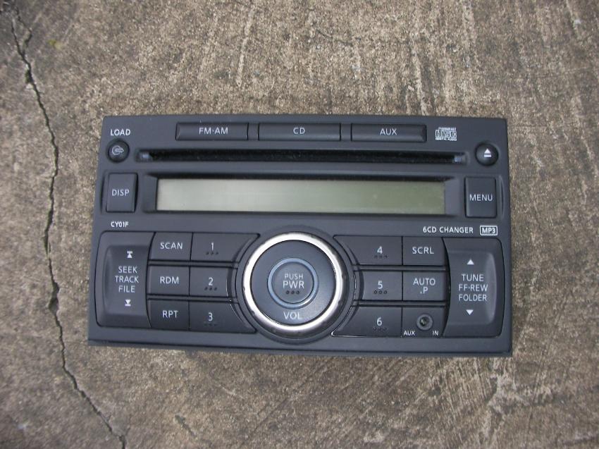Car Radio Nissan Navara 2010 Original