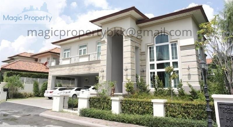 GRAND CRYSTAL HOUSE SALE Located on Ekkamai Ramintra Road ladprao area