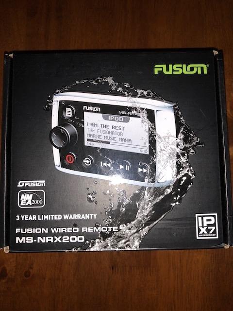 Fusion Wired Audio Remote MS-NRX200