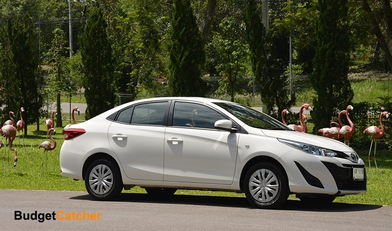 Automatic Brand New Toyota Yaris Ativ For Rent 14900 Baht/Month