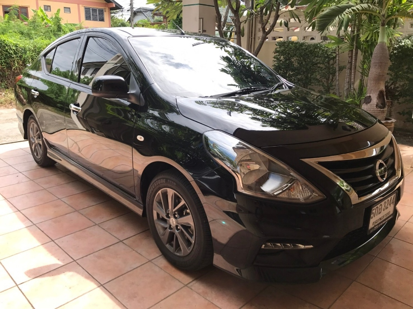 New Automatic Nissan Almera For Monthly Rental