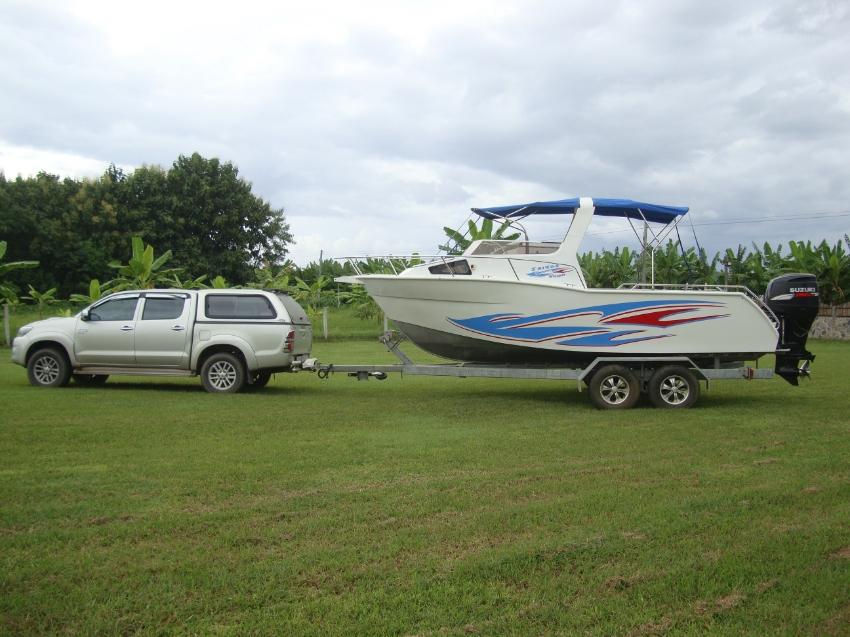 Aluminium Speed Boat  1,000,000 Tb