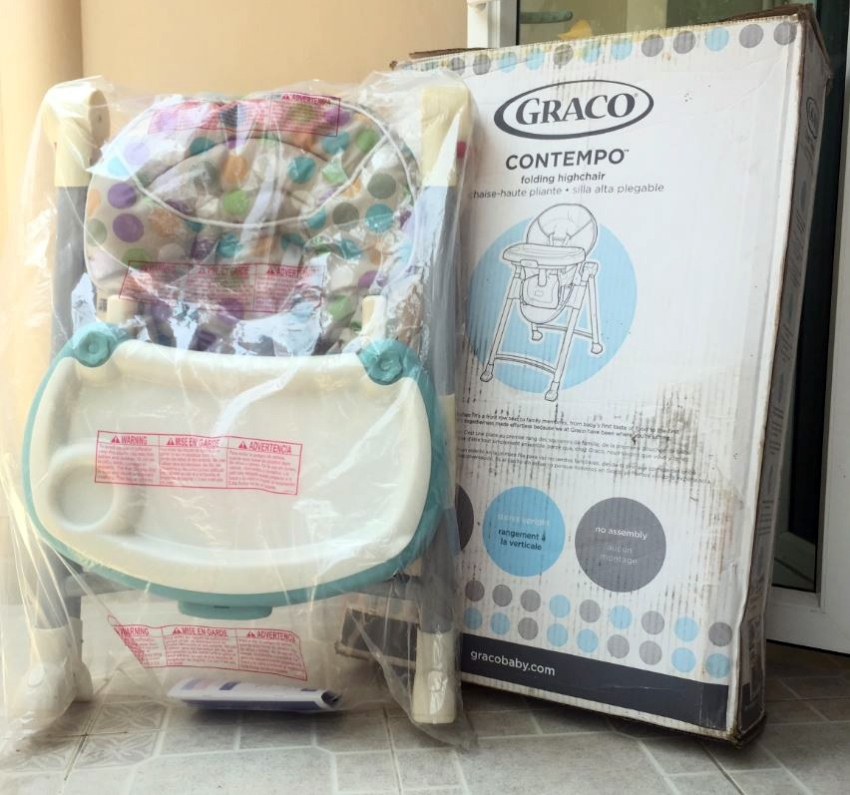 BABY / HIGH CHAIR - GRACO - BOXED - EXCELLENT CONDITION - HARDLY USED