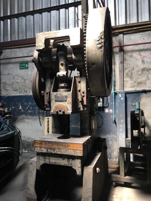 Used flywheel press