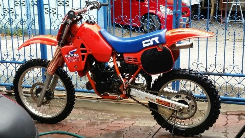 Honda CR125 1984 Vintage Motocross bike