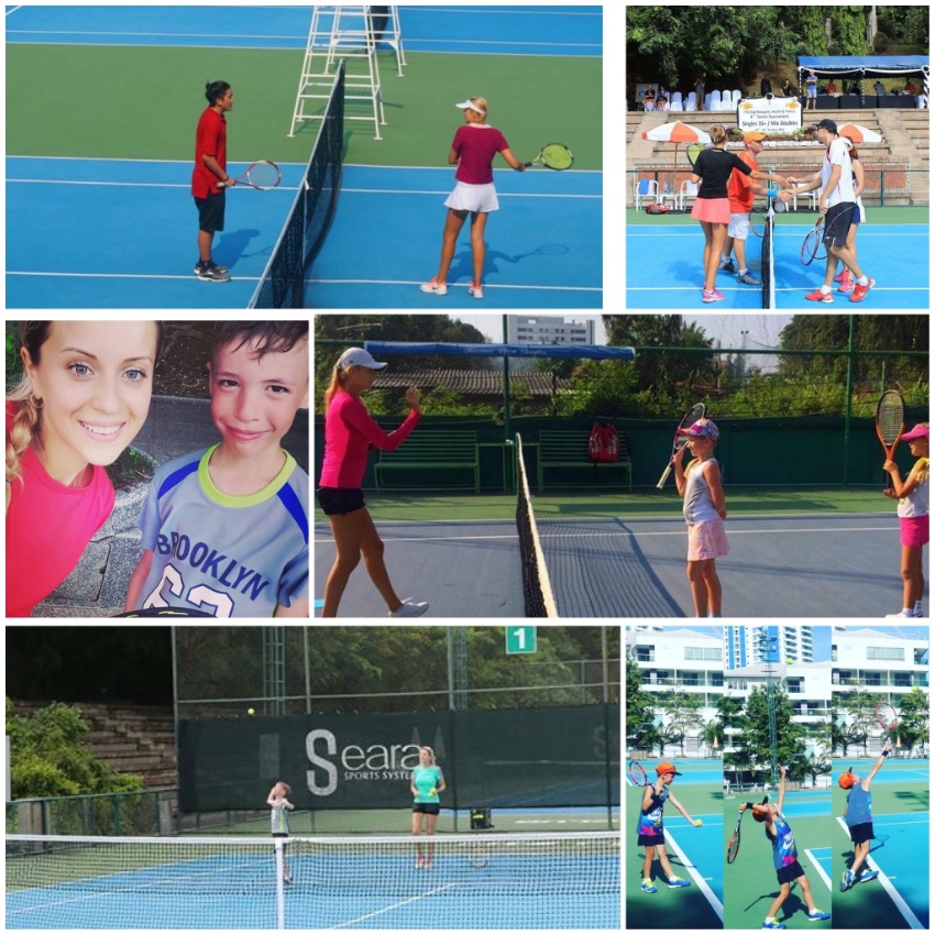 Tennis lessons for adults and kids