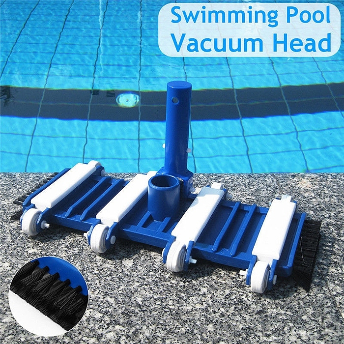 Swimming Pool Vacuum Head with Brush