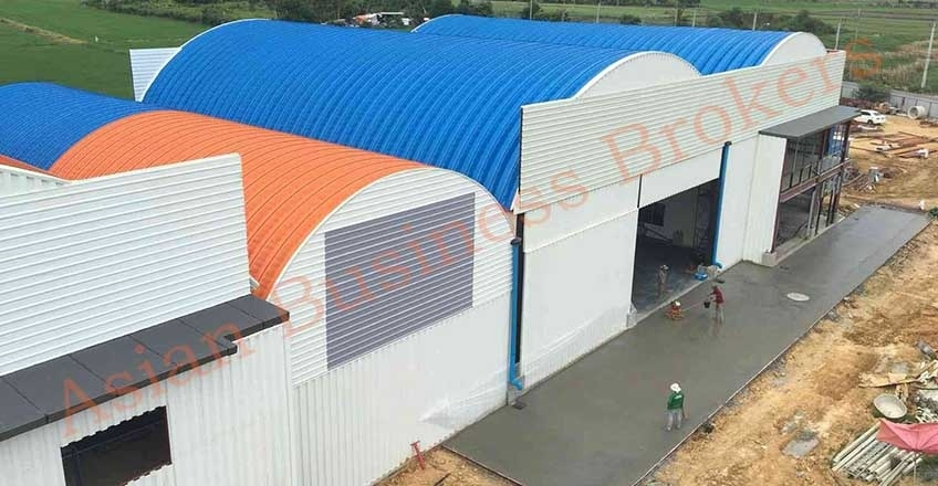 0128001 Bangkok Manufacturing Business with Freehold Land for Sale