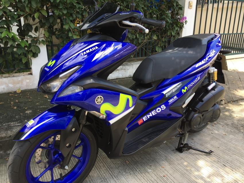 2017 Aerox 155 MotoGP Edition- Like New!