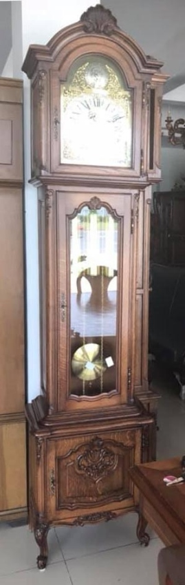 One of a Kind Belgian Grandfather Clock !!