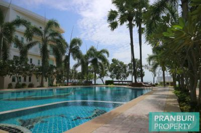 Breezy 2 bedroom condo overlooking white sand beach at Khao Kalok