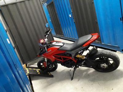 Motorcycle Storage @ Safetek Storage