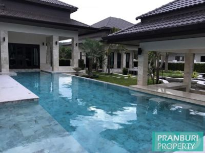 Luxury high quality custom villa with amazing features central Hua Hin