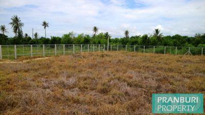 2142sqm land plot with good road frontage for sale Prachuap Kiri Khan