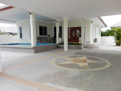 Conveniently Located  3 BR 2 Bath Pool Villa Near Cha-am Town Center