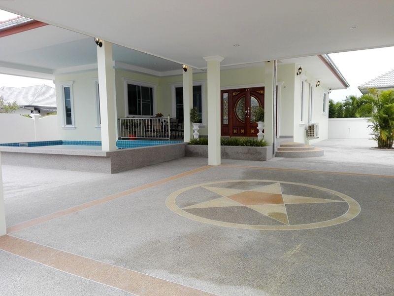Conveniently Located  3 BR 2 Bath Pool Villa Near Cha-am Town Center
