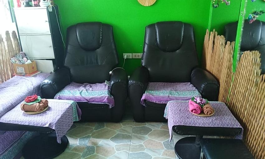 Massage shop in Sukumvit