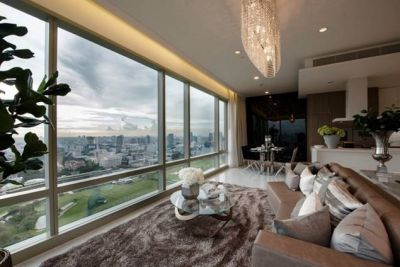 185 Rajadamri Luxury 2 bedroom penthouse duplex for rent Stunning view