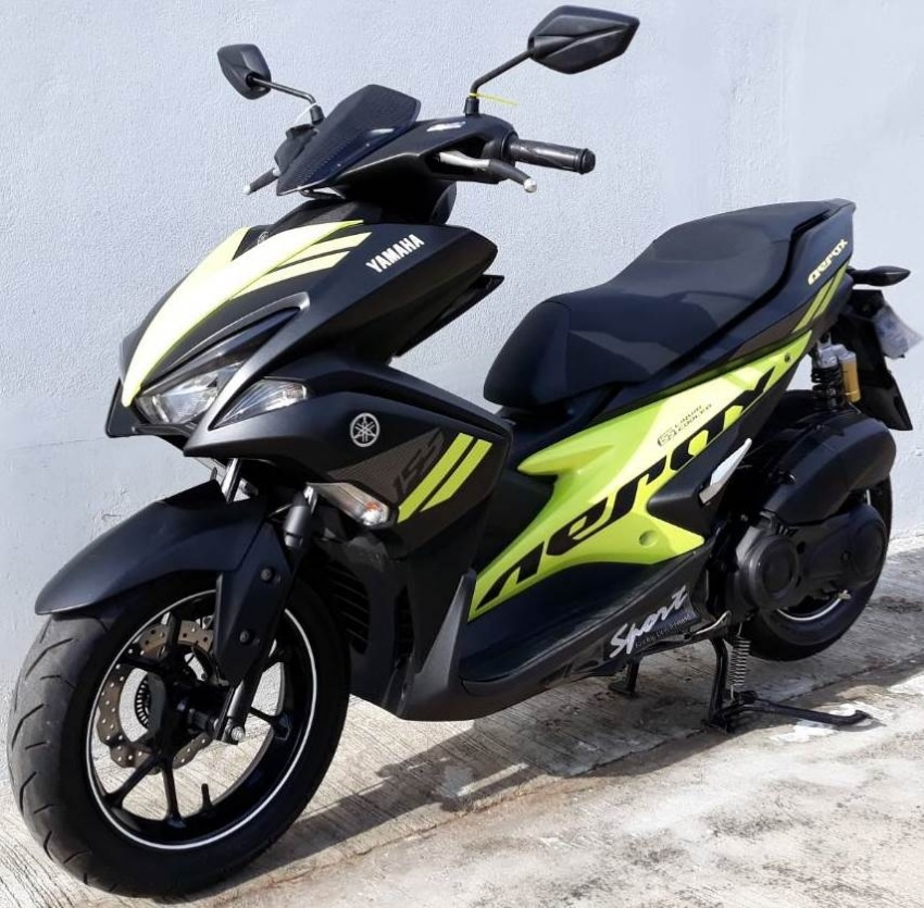 12/2017 Yamaha Aerox 155 R 7.xxx km 54.900 ฿