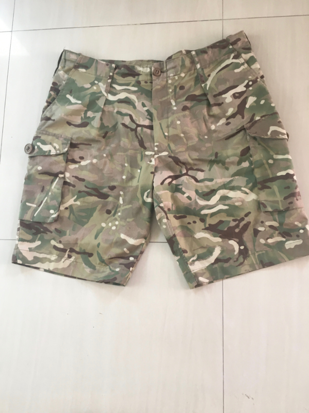 British Army MTP Shorts, 108Cm/42.5 inch waist, with adjusters.