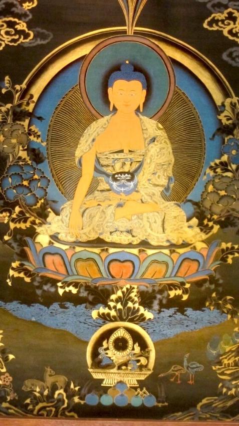 Buddhist Thangkas and Mandalas (4 Sold Individually)