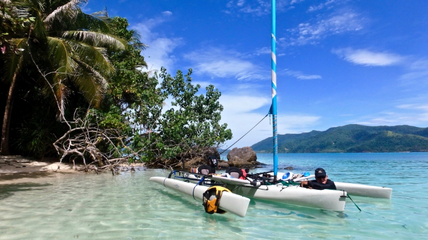 Hobie Tandem with Engine Suzuki 2.5 for Sale, aviable from Febbruary