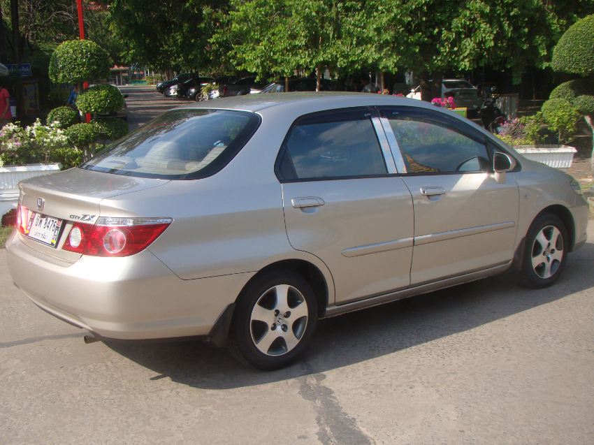 Honda City ZX, 2008, AT, LPG, low km, top condition