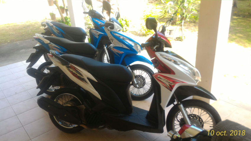 Honda Click 125i for Rent in Rawai, Delivered
