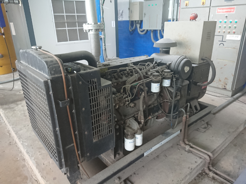 100KVA / 80KW Perkins and Leroy Somer Genset