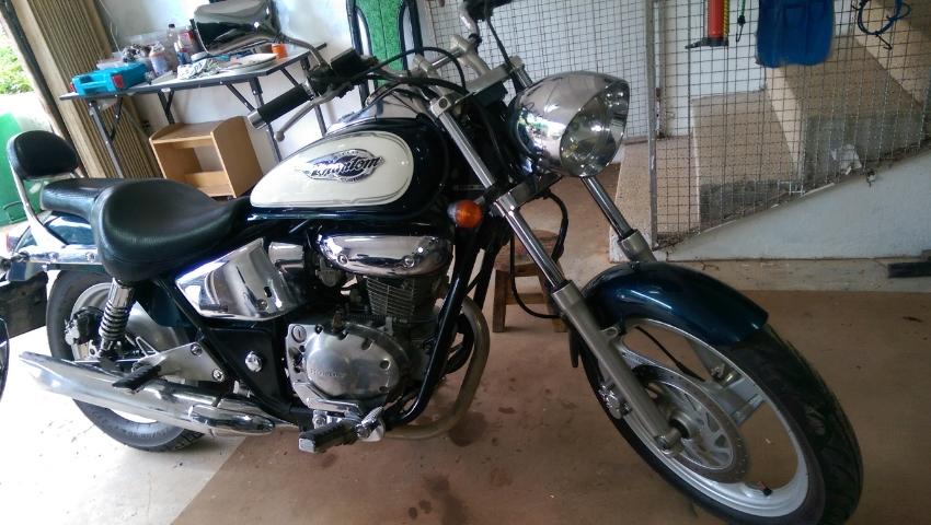 Very good condition Honda Phantom TA 200cc